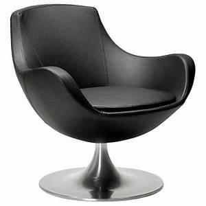 Fauteuil Pivotant Design : fauteuil moderne et pivotant raol noir vistadeco ~ Teatrodelosmanantiales.com Idées de Décoration