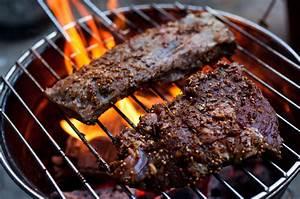 grilled skirt steak with smoky eggplant chutney recipe