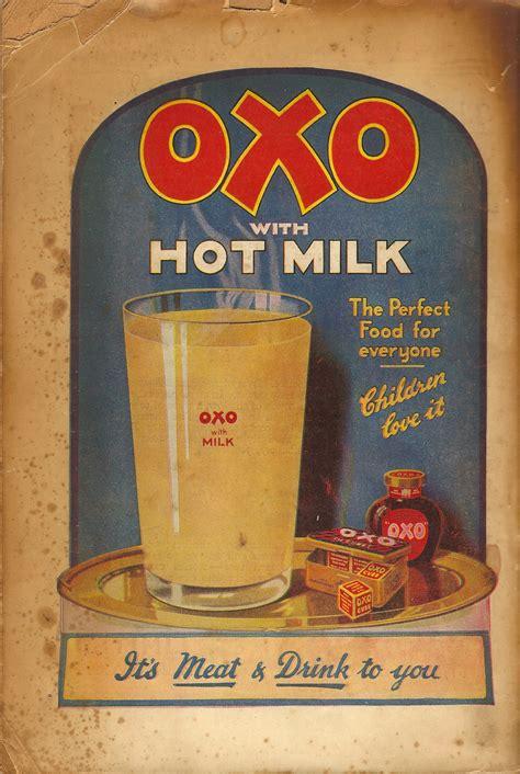 oxo  hot milk advert  copy flashbak