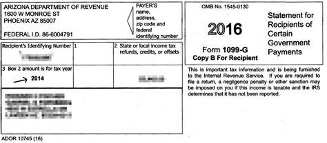 arizona sends erroneous tax forms   local news