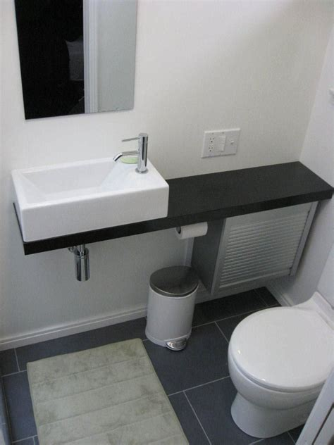 Bathroom Sink Cabinets For Small Bathrooms by Ikea Hackers Bath Vanity From Appliance Cabinet Crafts