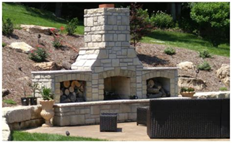 outdoor fireplace st louis outdoor living st louis outdoor living space