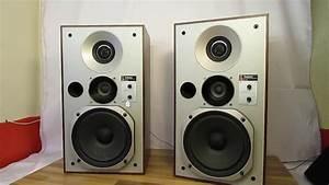 Vintage, Technics, Speakers, Sb-x5, Linear, Phase, Speaker, System, 3, Way, Beautiful