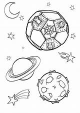 Galaxy Coloring Space Printable Colouring Printables Lesson Drawing Easy Solar System Moon Playroom Outline Adult Planets Outer sketch template