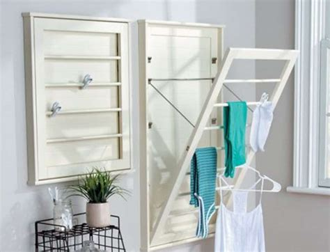 wall mounted clothes drying rack diy wall mounted drying rack free plans the whoot