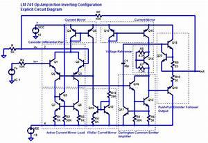 Diagram Of 741 Op Amp