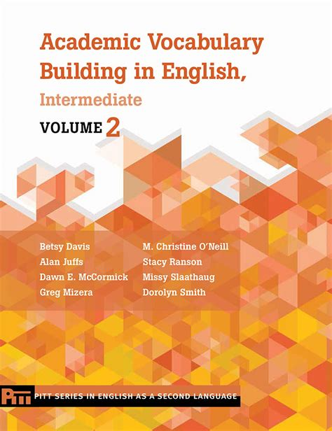 Academic Vocabulary Building In English, Intermediate