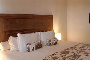 Tete De Lit En Bois : decoration tete de lit en bois visuel 4 ~ Teatrodelosmanantiales.com Idées de Décoration