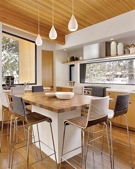 kitchen island table design ideas kitchen island table combination a practical and