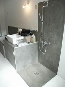 cabine de douche en beton etanche photo de sols et With salle de bain design avec peinture etanche