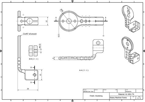 Rotary Machine Diagram by Engineering From Real Component To Print Apporo Cnc