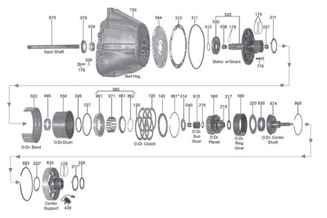 A4ld Transmission Overhaul Diagram by Whatever It Takes Transmission Parts