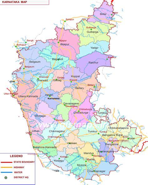 karnataka state map