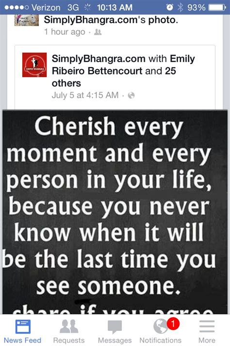 Cherishing Your Loved Ones Quotes