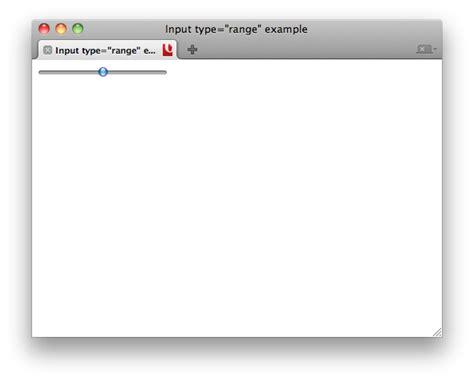 html elements input range w3c wiki