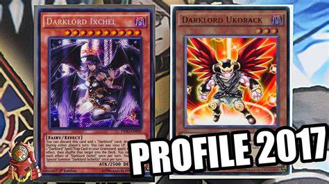 darklord yugioh deck duelist profile