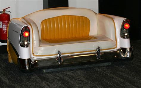 When Cars Are Repurposed As Furniture And Flower Beds