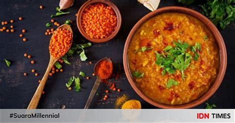 In 'n voedselverwerker, meng die helfde van die sop en. Resep Sop Lentil : Resep Sup Kacang Lentil Merah Hidangan ...