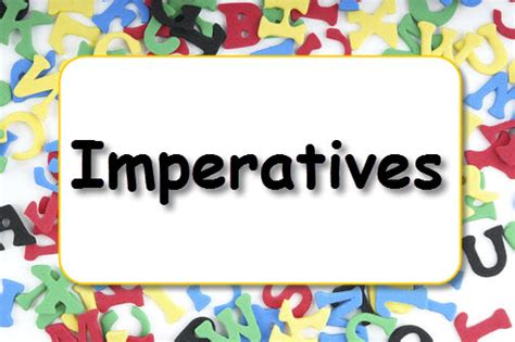 imperatives learnenglish kids british council