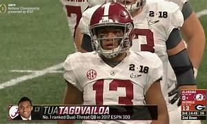 Alabama QB Jalen Hurts benched at halftime for Tua ...