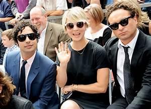 Big Bang Theory Stars Support Jim Parsons Walk of Fame ...