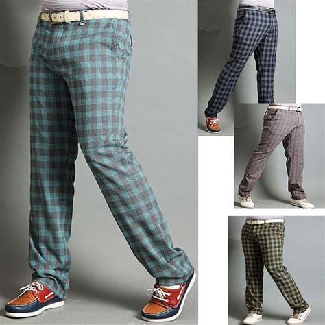 golfa bikses outlet | vīriešu pleds pārbaude golfa bikses ...