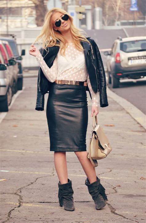 How to Wear Pencil Skirt Tips and Outfit Ideas - Style Motivation