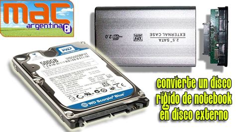 Porta Disk Interno - convertir disco rigido de notebook en externo usb