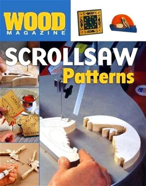 wood magazine scrollsaw patterns giant archive  downloadable  magazines