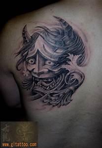 Demon Japonais Dessin : tatouage paule japonais d mon par gl tattoo ~ Maxctalentgroup.com Avis de Voitures