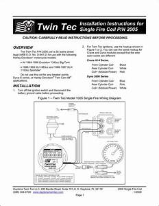 Crane Hi 4 Single Fire Ignition Wiring Diagram