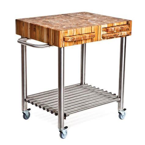 Stainless steel kitchen carts on wheels     Kitchen ideas