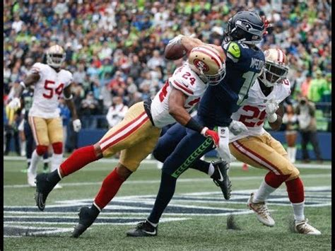 ers defense  seahawks nfl week  force