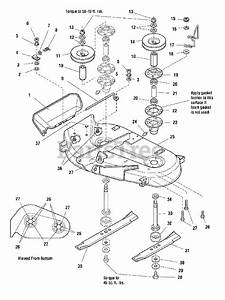 Simplicity Parts On The 38 U0026quot  Mower Deck