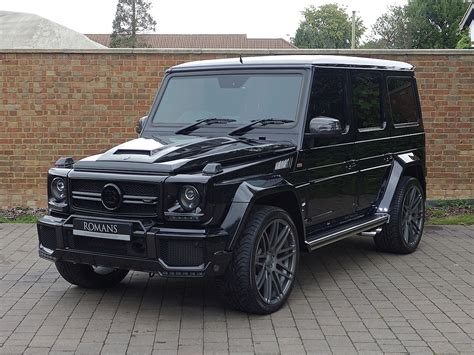 View detailed specifications of vehicles for free! 2015 Used Mercedes G63 AMG Brabus | Obsidian Black Metallic