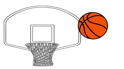 coloring pages   draw  basketball draw