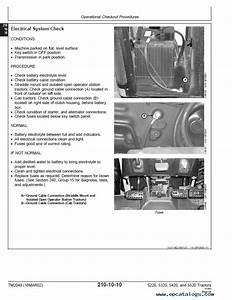John Deere 5220 5320 5420 5520 Tractor Operation Test Pdf