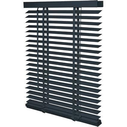 luxaflex hout 240 breed houten jaloezie zwart met ladderband houten jaloezie 235 n