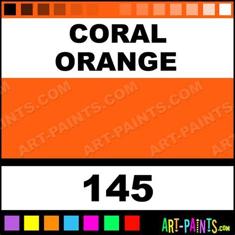 coral orange classic paints 145 coral orange paint