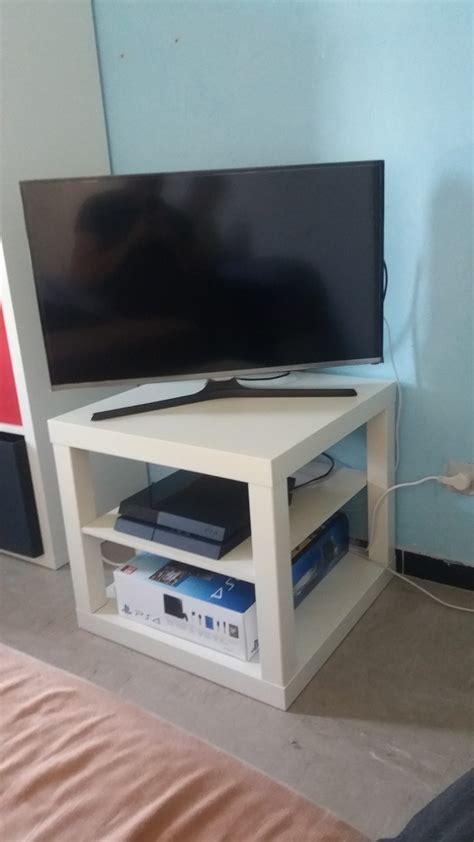 hack dun banc tv ikea lack