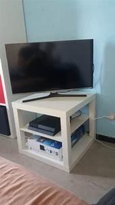 Meuble Tv Petit : hack d 39 un banc tv ikea lack ~ Teatrodelosmanantiales.com Idées de Décoration