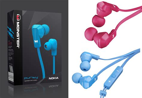headset earphone mercury stereo nokia purity and purity hd stereo headsets by