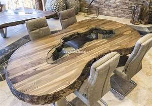 Pendelleuchte Esstisch Holz : esstisch oval aus recyceltem holz der tischonkel ~ Watch28wear.com Haus und Dekorationen