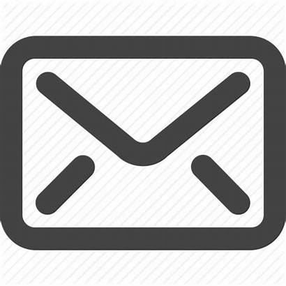 Icon Grey Mail Simple Shape Inbox Check