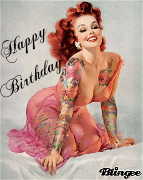 Happy Birthday pinup Picture #100286522 | Blingee.com