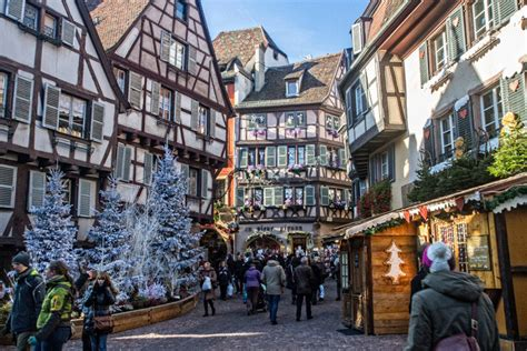 postcard from colmar market alsace the