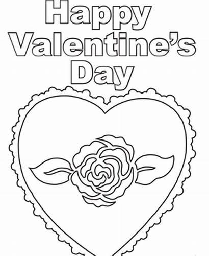 Valentines Coloring Valentine Happy Heart Pdf Printable
