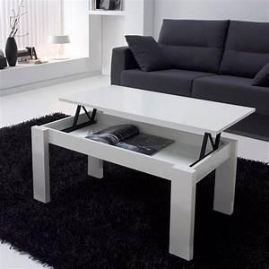 Table Basse Relevable Pas Cher : table basse modulable ~ Teatrodelosmanantiales.com Idées de Décoration