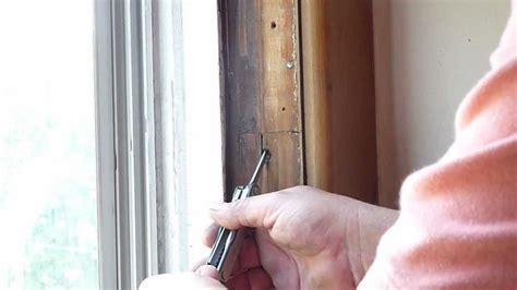 repairing sash cords youtube