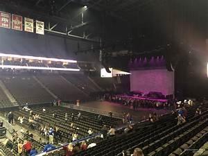 Vystar Veterans Memorial Arena Section 105 Concert Seating